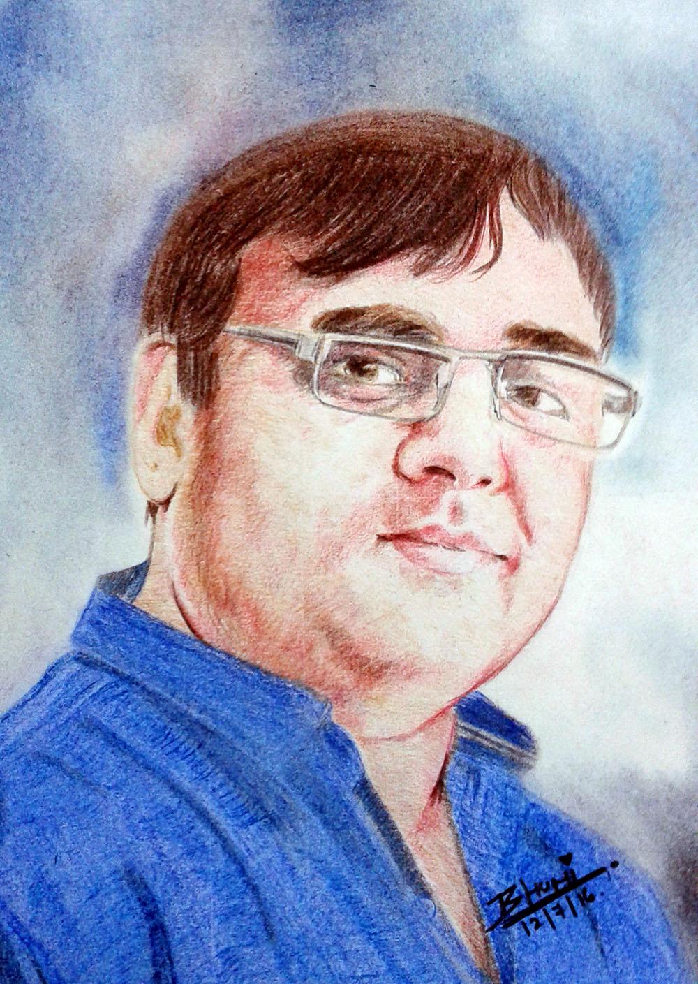 Sketches By Bhavya Jhala