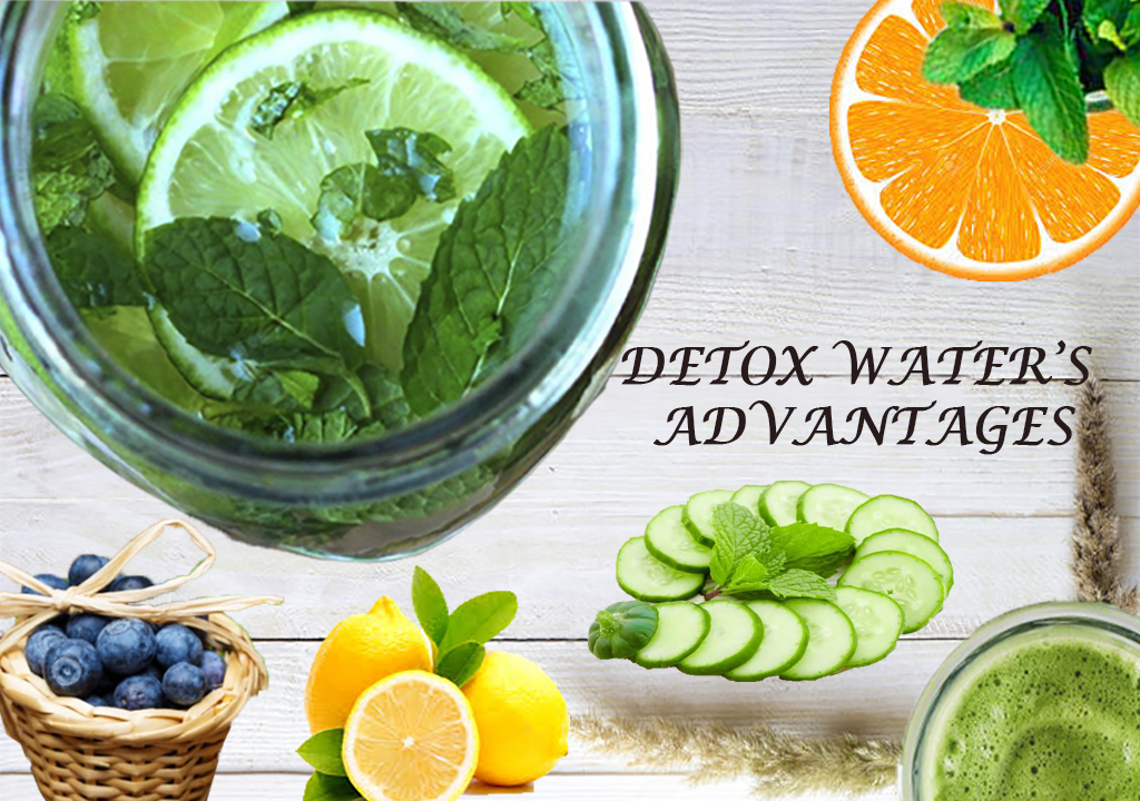 DETOX WATER: Natural belly slimming recipe