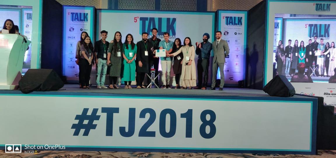 Team NIMCJ at TALK JOURNALISM'18