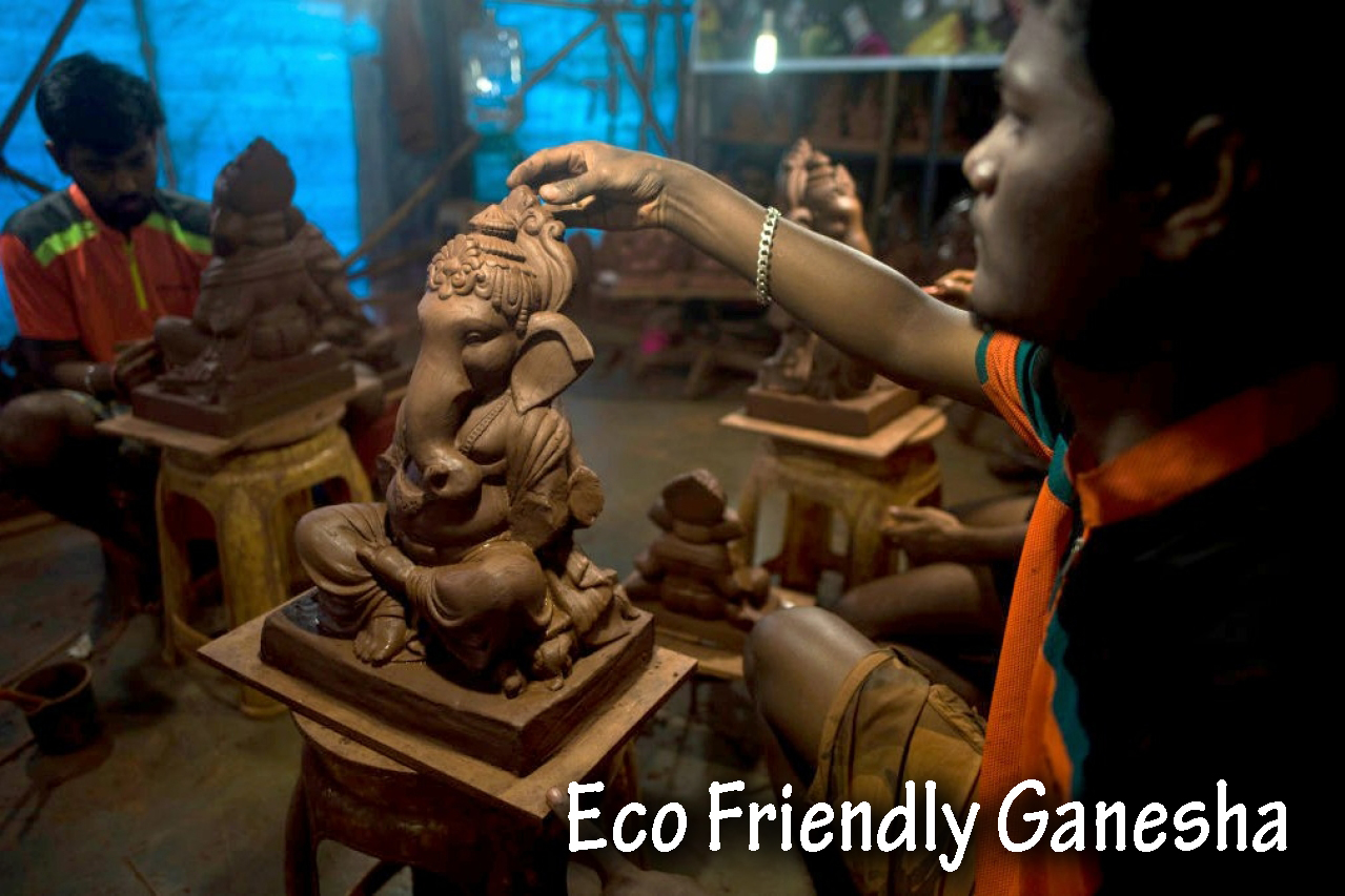 Go for Eco- Friendly Ganesha this time!