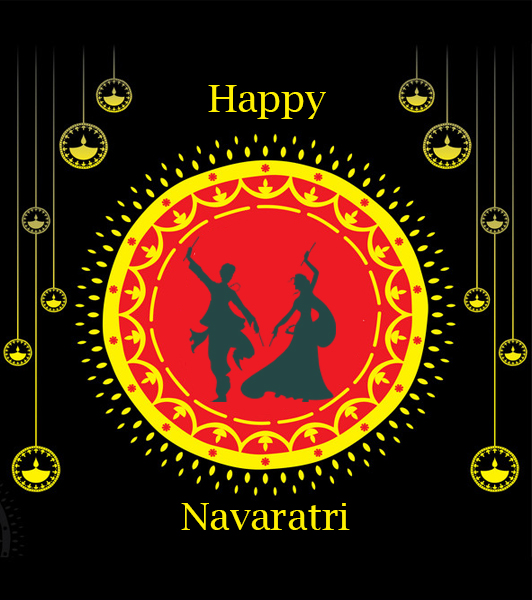 The mania of Navratri is showering
