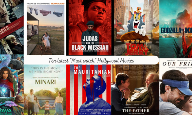 """Ten Latest """"Must watch"""" Hollywood Movies"""