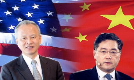 अमेरिका में चीन के राजदूत आठ साल बाद रवाना होंगे