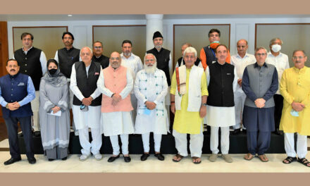 PM Modi Meets J&K Leaders For First Time Since Article 370 Abrogation