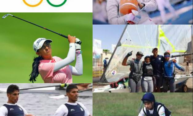 टोक्यो ओलिंपिक की भिन्न प्रतियोगिताओं में भारत का प्रतिनिधित्व